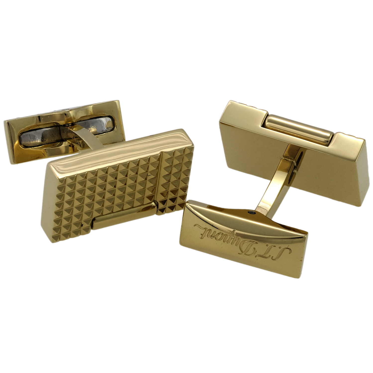 Yellow Gold Plated Lighter Cufflinks 005370OR