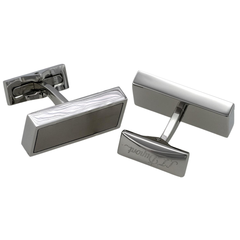 Defi Stainless Steel & Titanium Cufflinks 005633