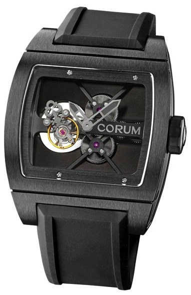 Ti Bridge Tourbillon Black 022.700.94/F371 0000