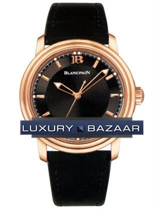 Leman Ultra-Slim Big Date 2850A-3630-64