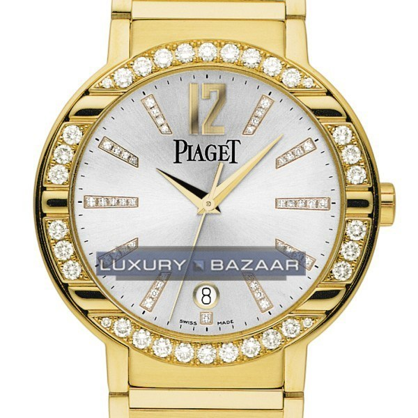 Piaget Polo Date (YG-Diamonds/Silver-Diamonds/YG)
