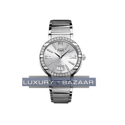 Piaget Polo Date Ladies (WG-Damonds/Silver /WG)