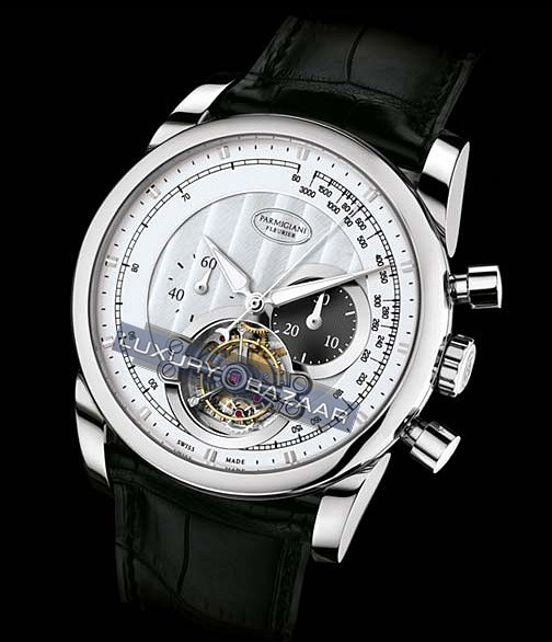 Tonda 42 Tourbillon (WG/Silver/Leather)