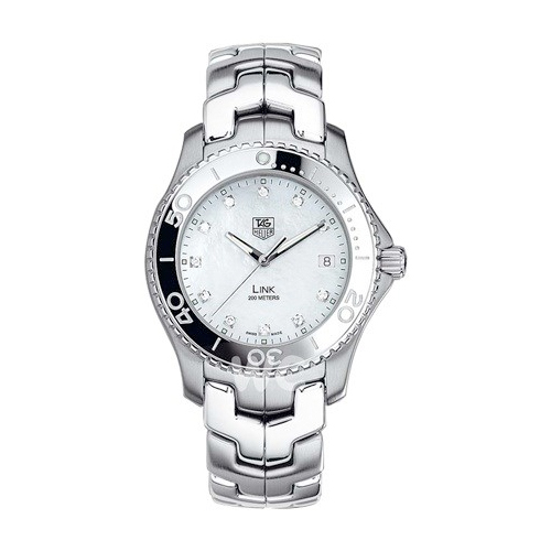Tag Heuer Link (SS-Diamonds /White MOP-Diamonds/ SS)