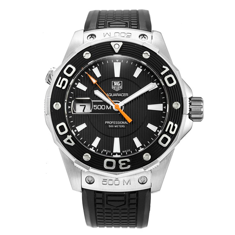 Tag Heuer Aquaracer Quartz 500M (SS/Black/Rubber)