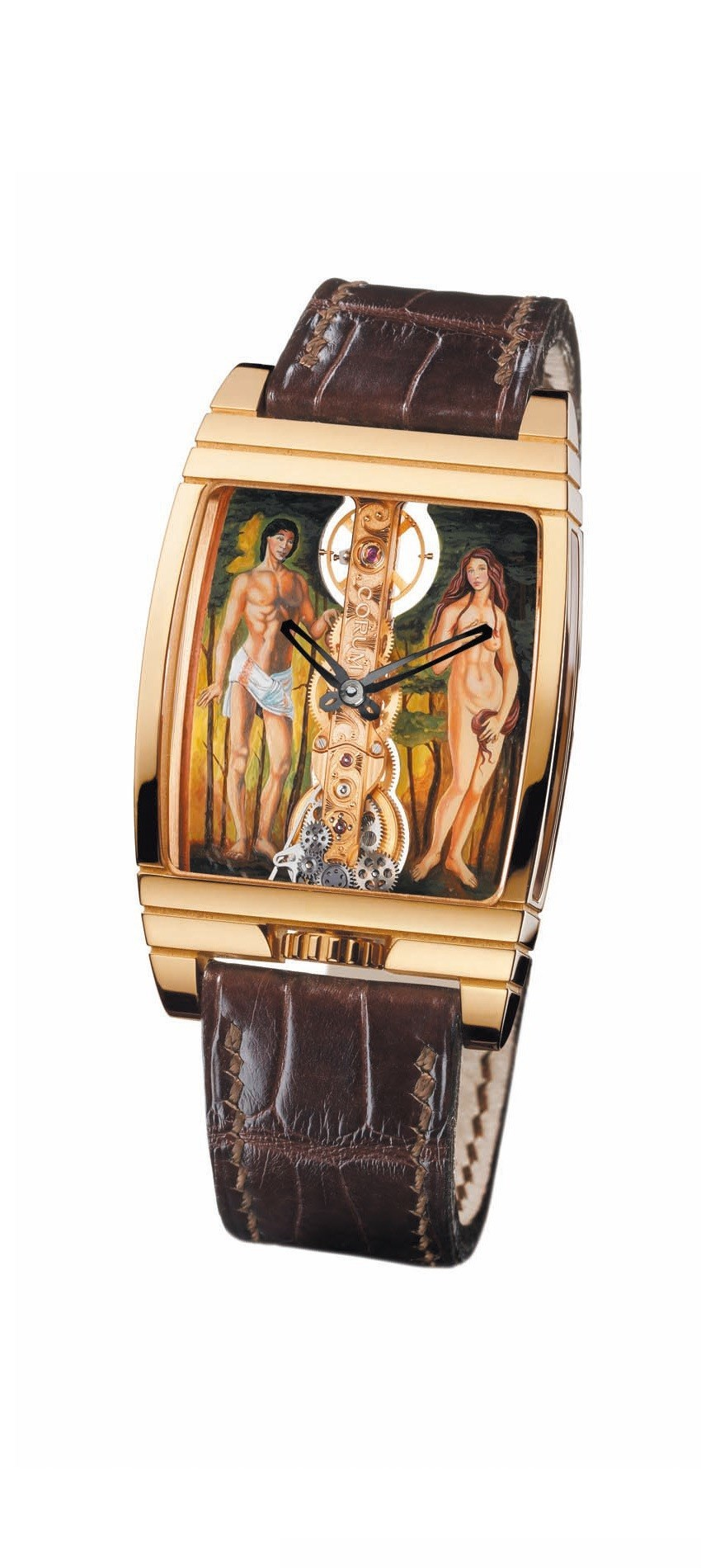 Golden Bridge Adam and Eve (RG / Adam and Eve  / Strap)