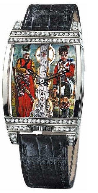Golden Bridge Napoleon with Diamonds 113.763.69/0081 SOLD