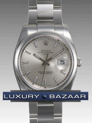 Date 34mm Domed Bezel 115200 sio