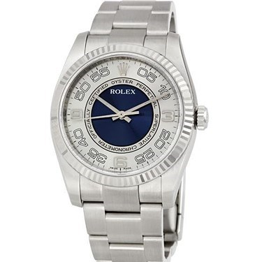 Oyster Perpetual No-Date Large - 36mm - Fluted Bezel 116034 sblao
