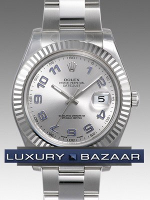 Oyster Perpetual Datejust II 41mm Fluted Bezel 116334 gao
