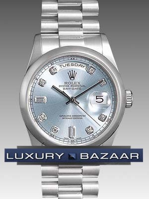 Rolex Oyster perpetual Day-Date 118206 gladp