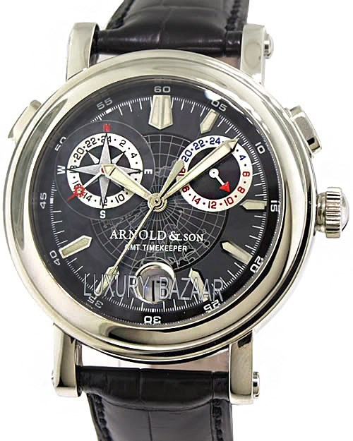GMT II Steel Compass Rose 1G2AS.B03A.C01B