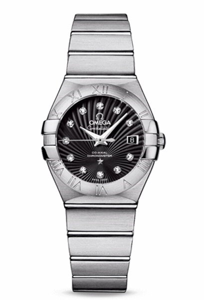 Constellation Lady Brushed Chronometer 123.10.27.20.51.001