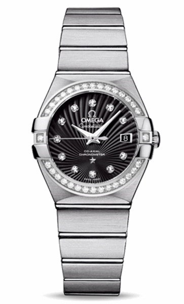 Constellation Lady Brushed Chronometer 123.15.27.20.51.001