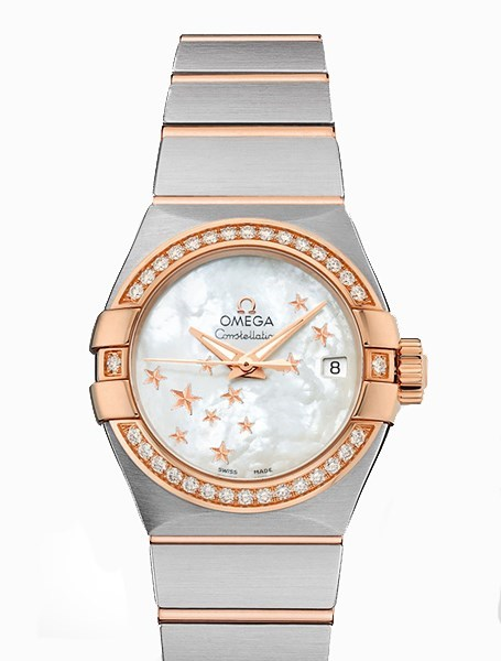 Constellation Lady Brushed Chronometer 123.25.27.20.05.002