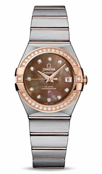 Constellation Lady Brushed Chronometer 123.25.27.20.57.001