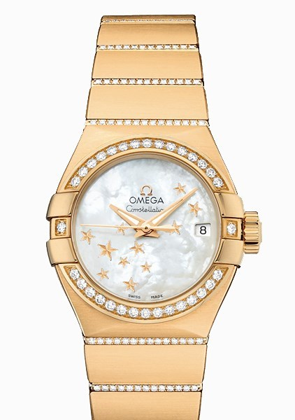 Constellation Lady Brushed Chronometer 123.55.27.20.05.002