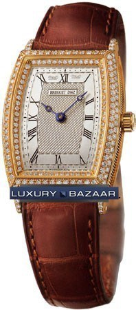 Heritage Automatic Ladies (YG / Diamonds / Leather)