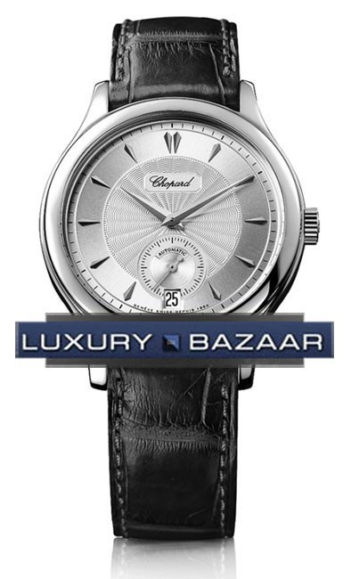 L.U.C. Classic Small Seconds (WG / Silver / Leather)