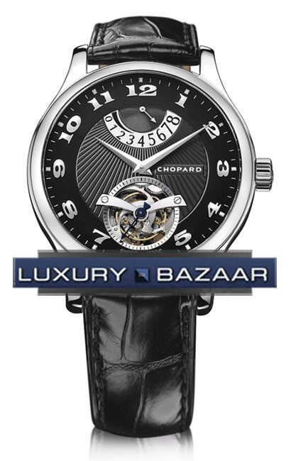 L.U.C. Tourbillon (WG / Black / Leather)