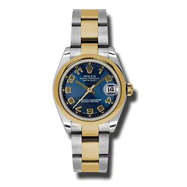 Oyster Perpetual Datejust 31mm Domed Bezel 178243 blcao
