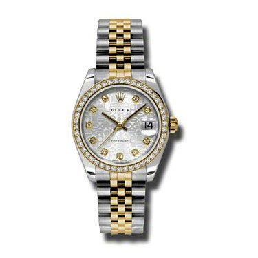Oyster Perpetual Datejust 31mm Diamond Bezel 178383 sjdj