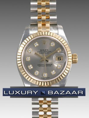 Oyster Perpetual Lady-Datejust 26 Fluted Bezel 179173 sdj