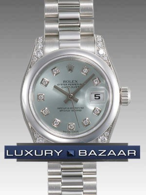 Datejust Lady Platinum 26mm President 179296 gbdp