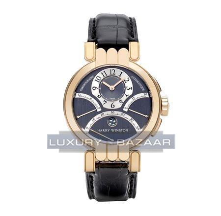 Harry Winston Premier Excenter Timezone PREACT39RR001