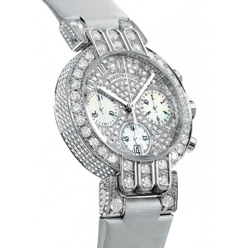 Ladies Premier Excenter Midsize Chrono PREQCH32WW093