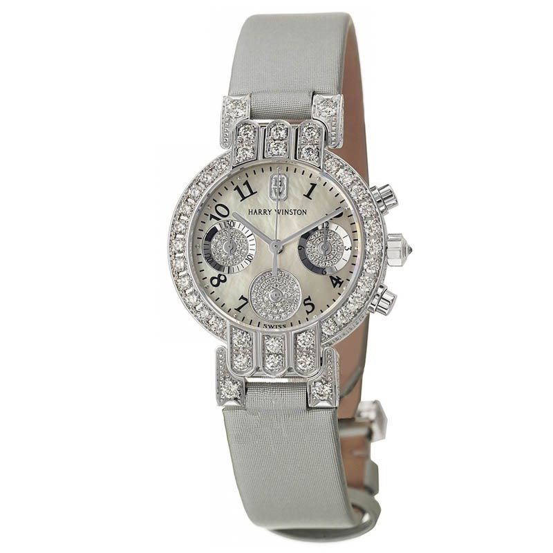Ladies Premier Excenter Midsize Chrono PREQCH32WW086