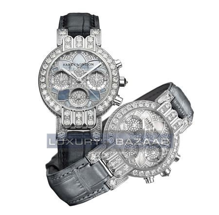 Harry Winston Premier Excenter Lotus Ladies 200/UCQ32WL.MKD02/00 Right