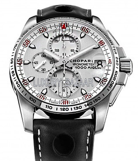 Mille Miglia GT XL Chrono Speed Silver 168459-3041