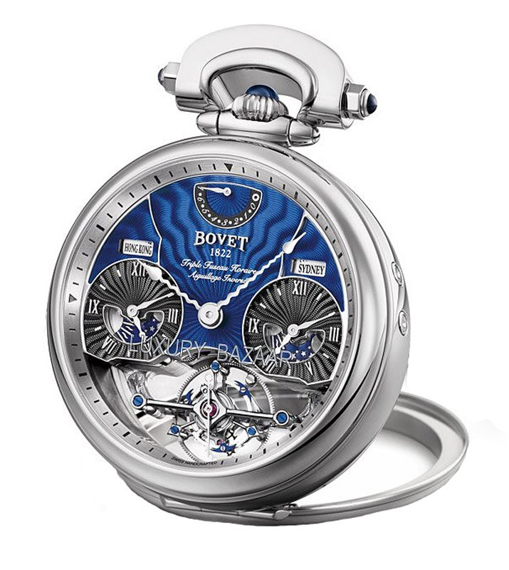 Fleurier 46 Rising Star Tourbillon Blue AIRS010
