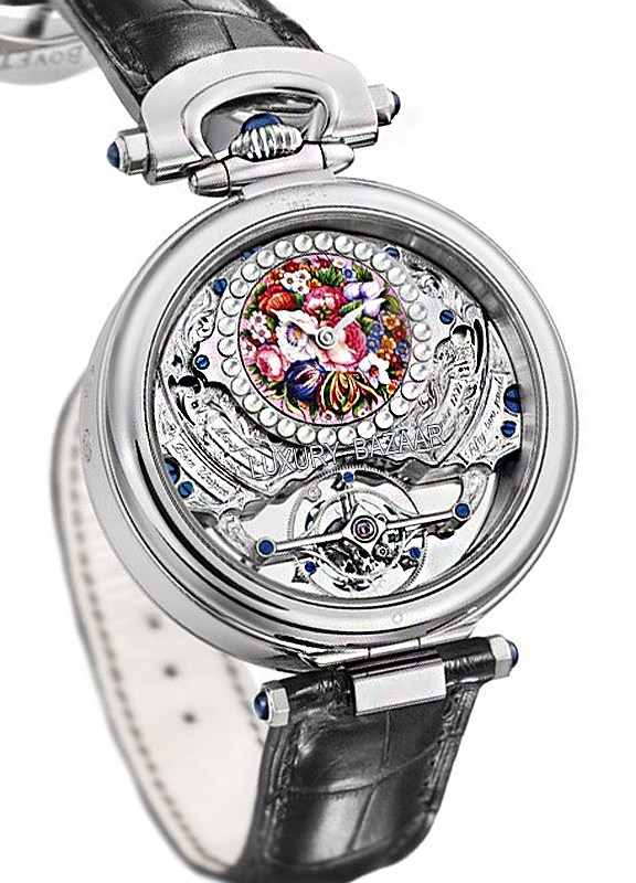 Fleurier Rising Star Tourbillon Enamel Miniature