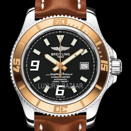 Superocean 44 Stainless Steel & Red Gold c1739112/ba77-2ld