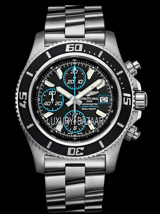 Superocean Chronograph II Steel & Abyss Blue Steel