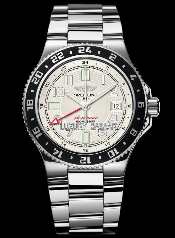 Superocean GMT Stratus Silver Steel Bracelet