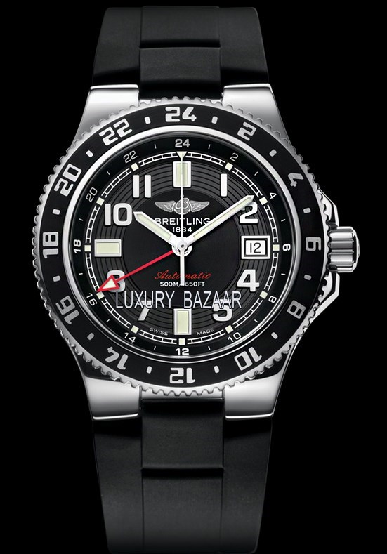 Superocean GMT Volcano Black Rubber