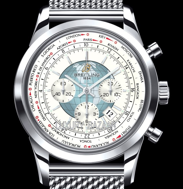 Transocean Chronograph Unitime Stainless Steel AB0510U0.A732.152A
