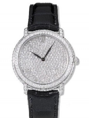 Jules Audemars Ladies Full Pave 15123BC.ZZ.A001CR.01