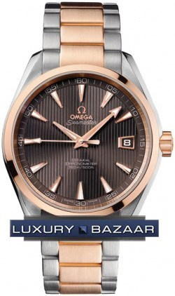 Seamaster Aqua Terra Automatic Chronometer 41.5mm ( SS -RG/ Brown /SS - RG)