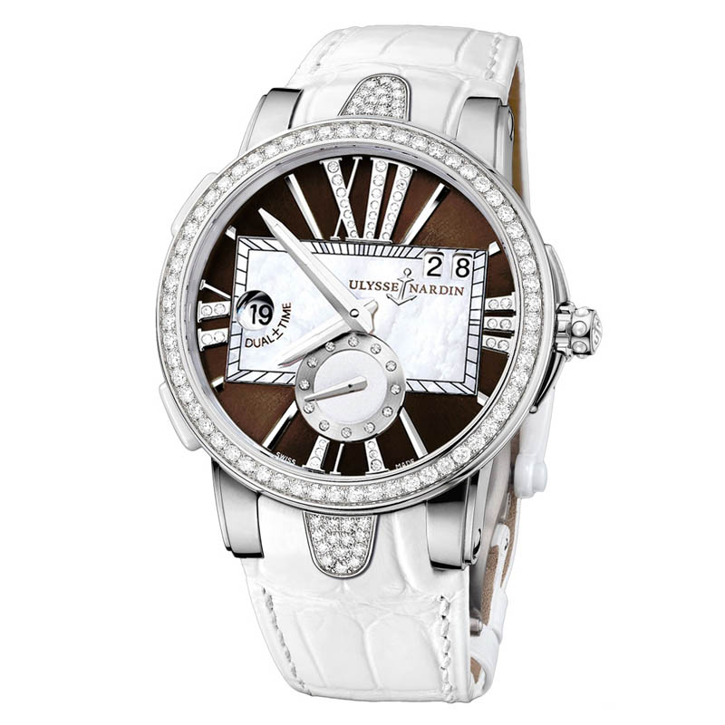 Executive Dual Time Ladies 40mm 243-10B/30-05
