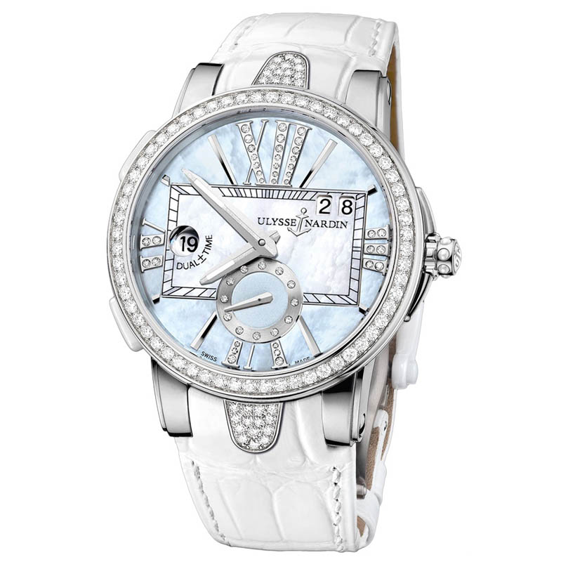 Executive Dual Time Ladies 40mm 243-10B/393