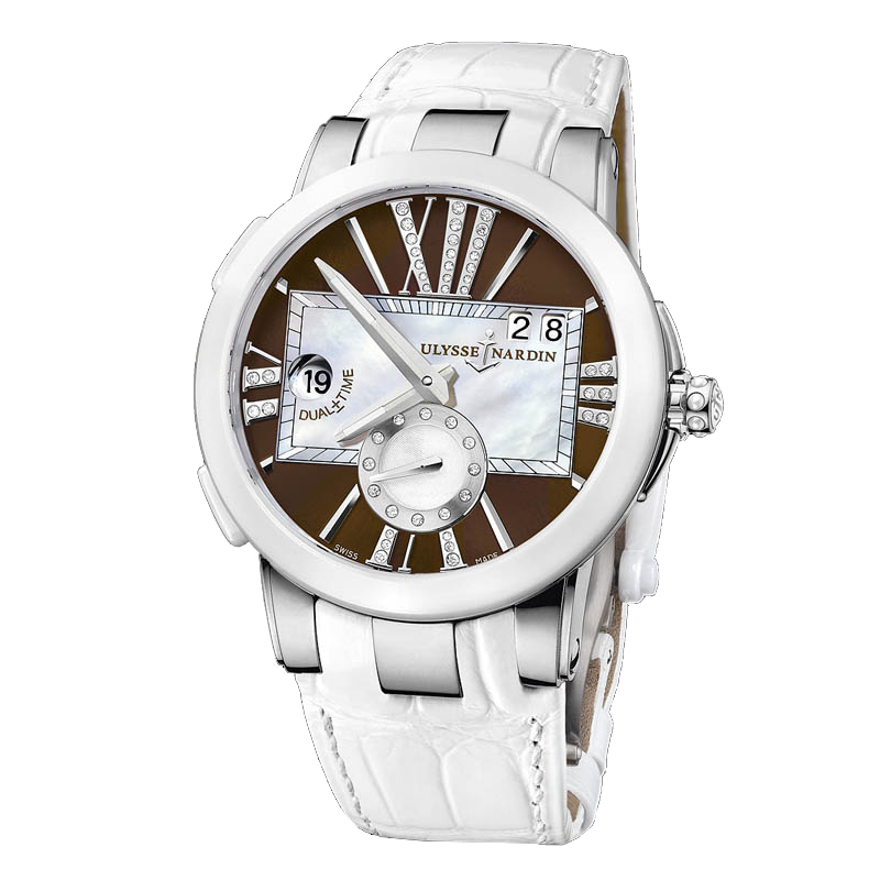 Executive Dual Time Ladies 40mm 243-10/30-05