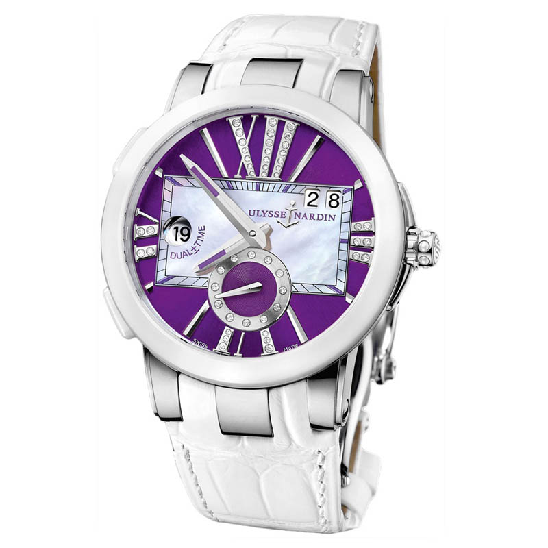 Executive Dual Time Ladies 40mm 243-10/30-07