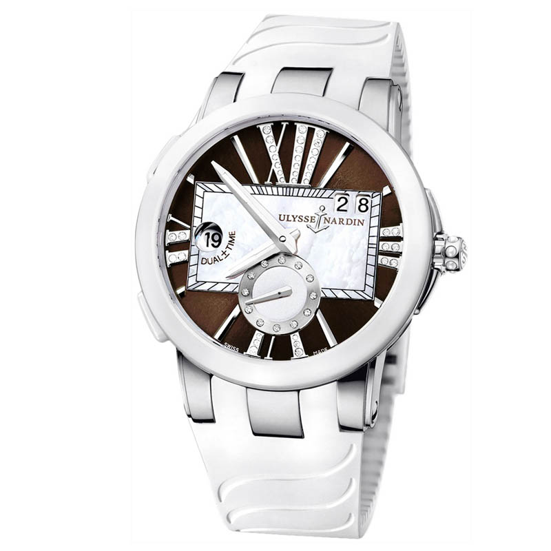 Executive Dual Time Ladies 40mm 243-10-3/30-05