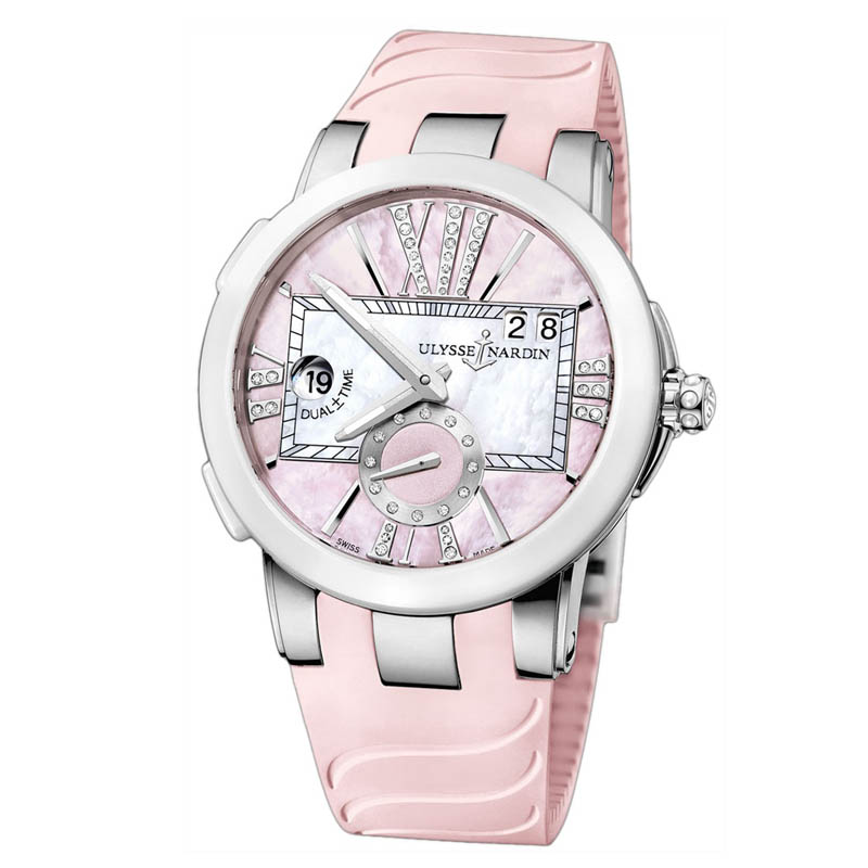 Executive Dual Time Ladies 40mm 243-10-3/397