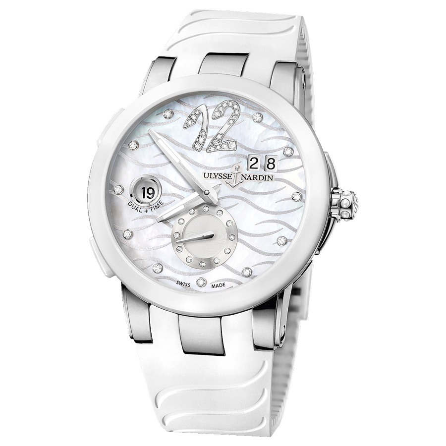 Executive Dual Time Ladies 40mm 243-10-3/691