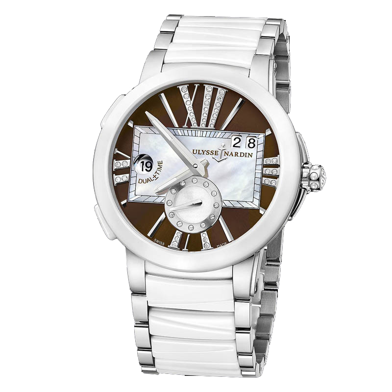 Executive Dual Time Ladies 40mm 243-10-7/30-05